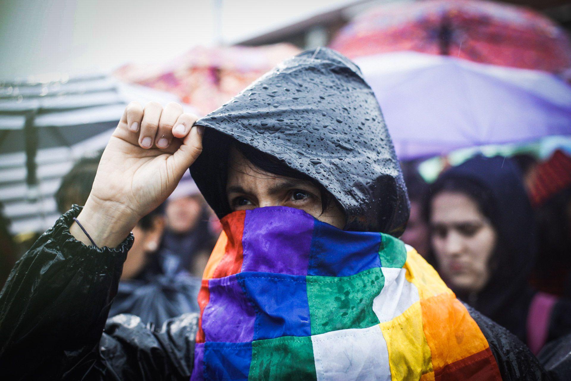 La bandera de los cuadraditos de colores flameó por todos los espacios públicos