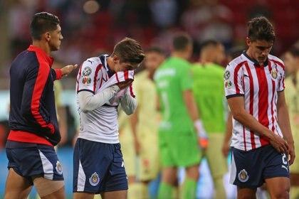 Chivas perdió con el América dos clásicos en una semana. (Foto: Cuartoscuro)