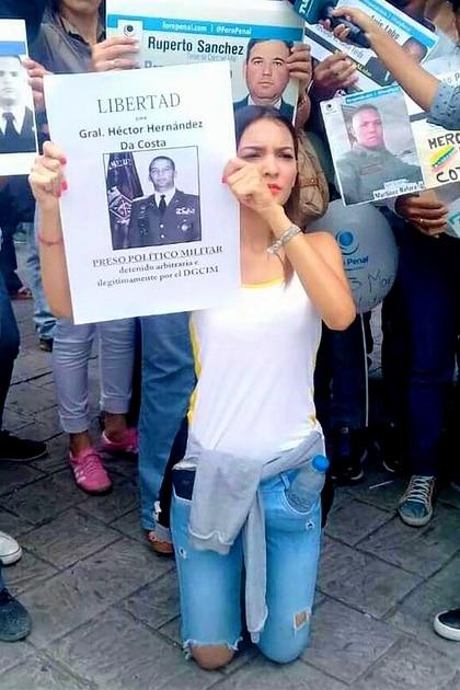 Loredana Hernández, hija del general