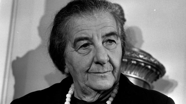 """Golda Meir, la admirada """"Mujer de Hierro"""" de Israel"""