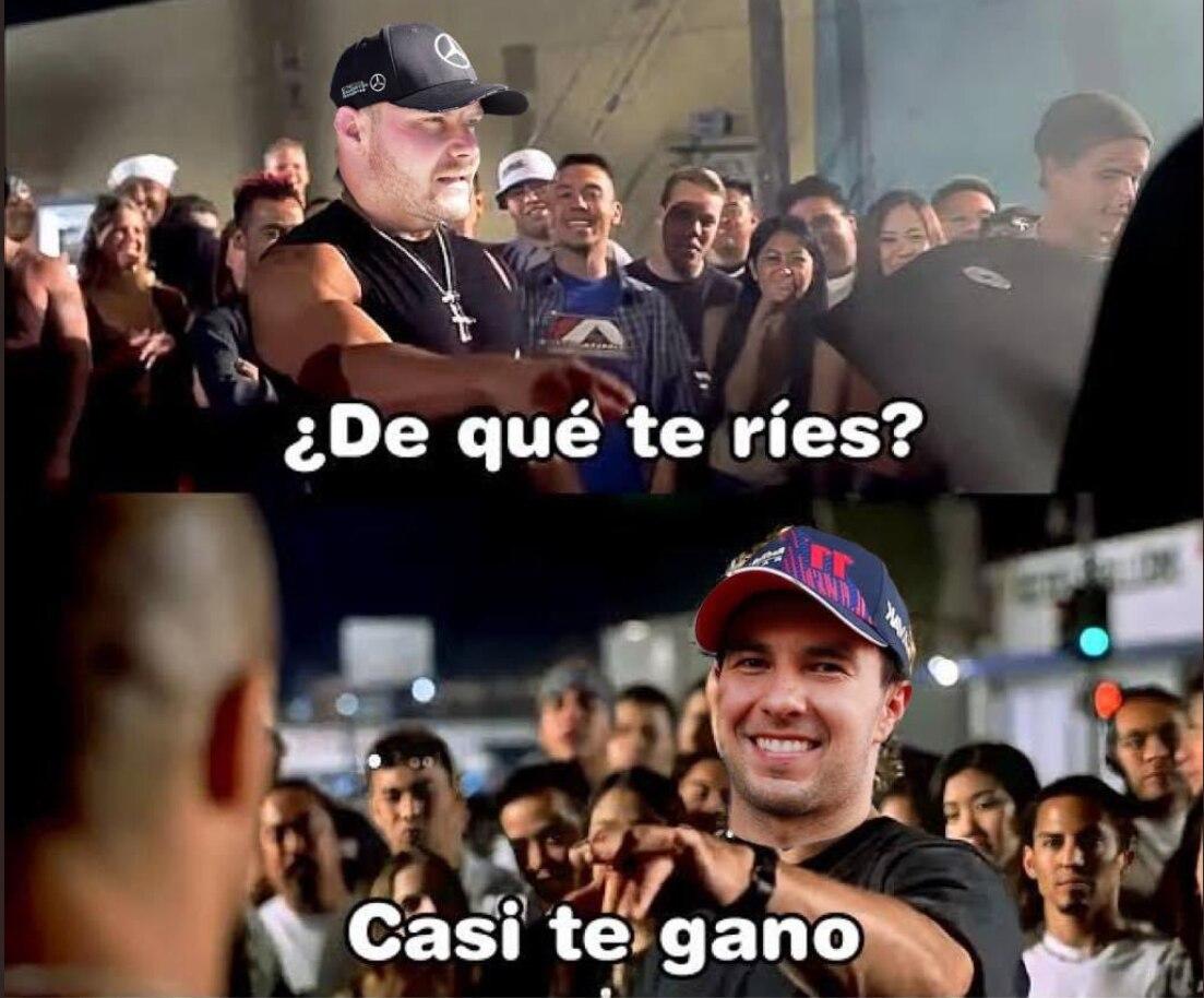 Meme Checo Pérez