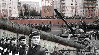 """El Bundeswehr y el National Volksarmee, las dos caras de la militarización de la """"Cortina de Hierro"""""""