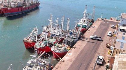 El puerto de Mar del Plata es otro de los focos de atención ante el riesgo de contagio de tripulantes de pesqueros