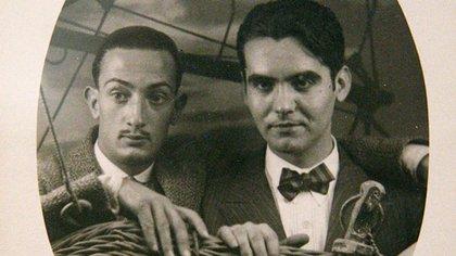 Salvador Dalí y Federico García Lorca (Museo Caixaforum de Madrid)