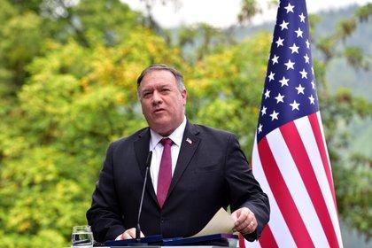 El secretario de Estado de EE.UU., Mike Pompeo. EFE/EPA/IGOR KUPLJENIK/Archivo