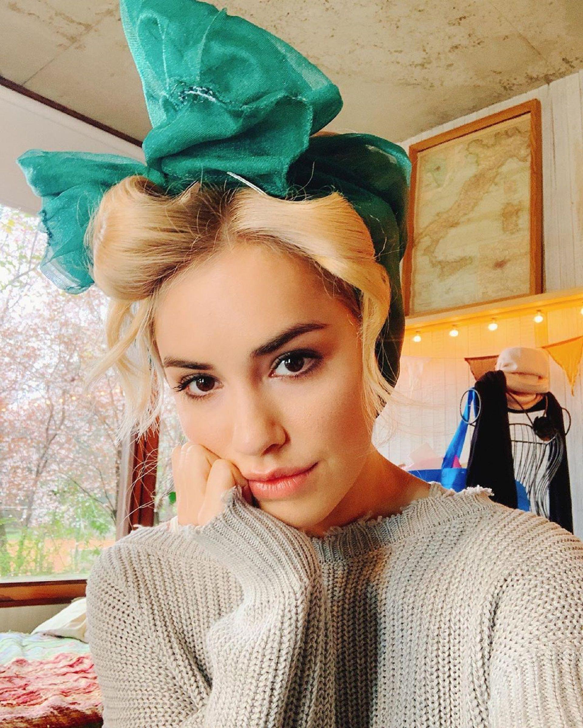 La actriz y cantante compartió las fotos en su cuenta de Instagram, red social en la que tiene seis millones de seguidores