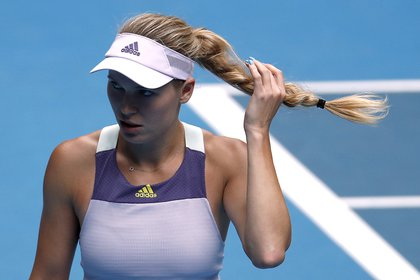 Caroline Wozniacki played her last match as a professional at the last Australian Open (REUTERS)