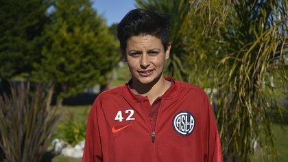 Sindy Ramírez, futbolista de San Lorenzo (Gustavo Gavotti)