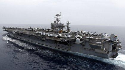 El portaaviones USS Harry S. Truman  AP / Fabrizio Bensch 163