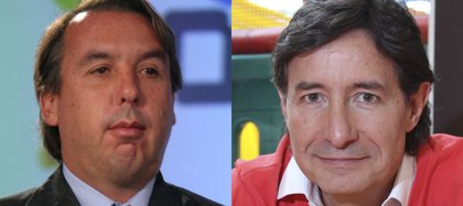 Roberto Gómez Fernandez y Emilio Azcárraga Jean (Foto: Cuartoscuro)