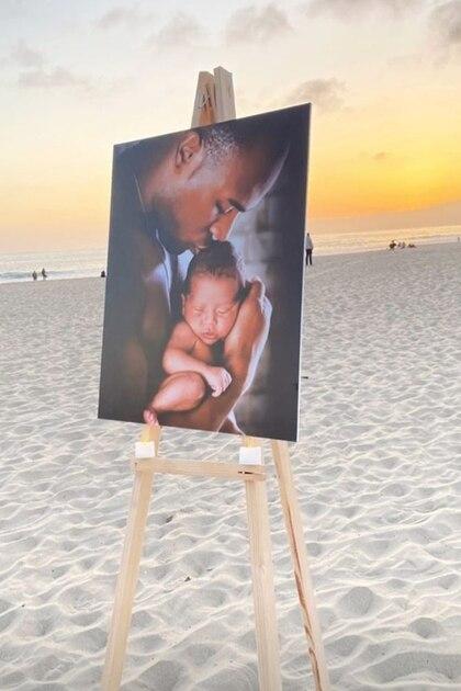 Fotos de Gaspard aparecieron en la playa (Foto: Instagram/Siliana Gaspard)