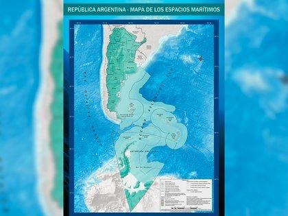 Así quedará demarcado el nuevo límite exterior de la plataforma continental más allá de las 200 millas marinas