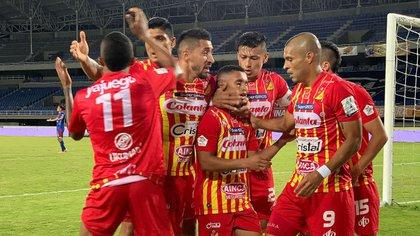 El Deportivo Pereira está en crisis. Foto cortesía de Dimayor.