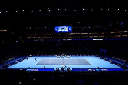 Postal de O2, la cancha principal de las Finales ATP (Reuters / Toby Melville)