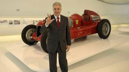 Piero Ferrari, el otro hijo de Don Enzo, nacido de una relación extra matrimonial. (AP)
