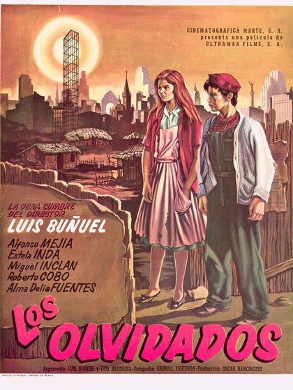 La película se sitúa en la línea del neorrealismo italiano, al que Buñuel aporta su toque surrealista (Foto: Filmoteca UNAM)