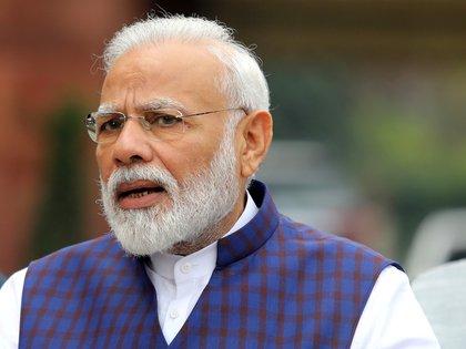 El primer ministro indio Narendra Modi (Reuters/ Altaf Hussain/ File Photo)