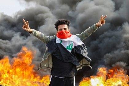 La teocracia iraní ha seguido con atención el desarrollo de las protesas opositoras en Irak (Reuters)