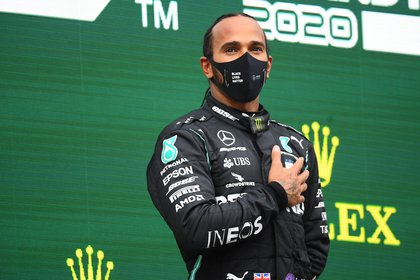 Hamilton se coronó campeón por séptima vez en la Fórmula 1 -REUTERS/Clive Mason