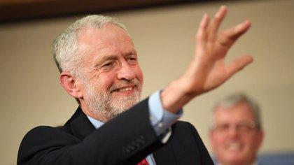 Jeremy Corbyn, líder del partido laborista (AFP)