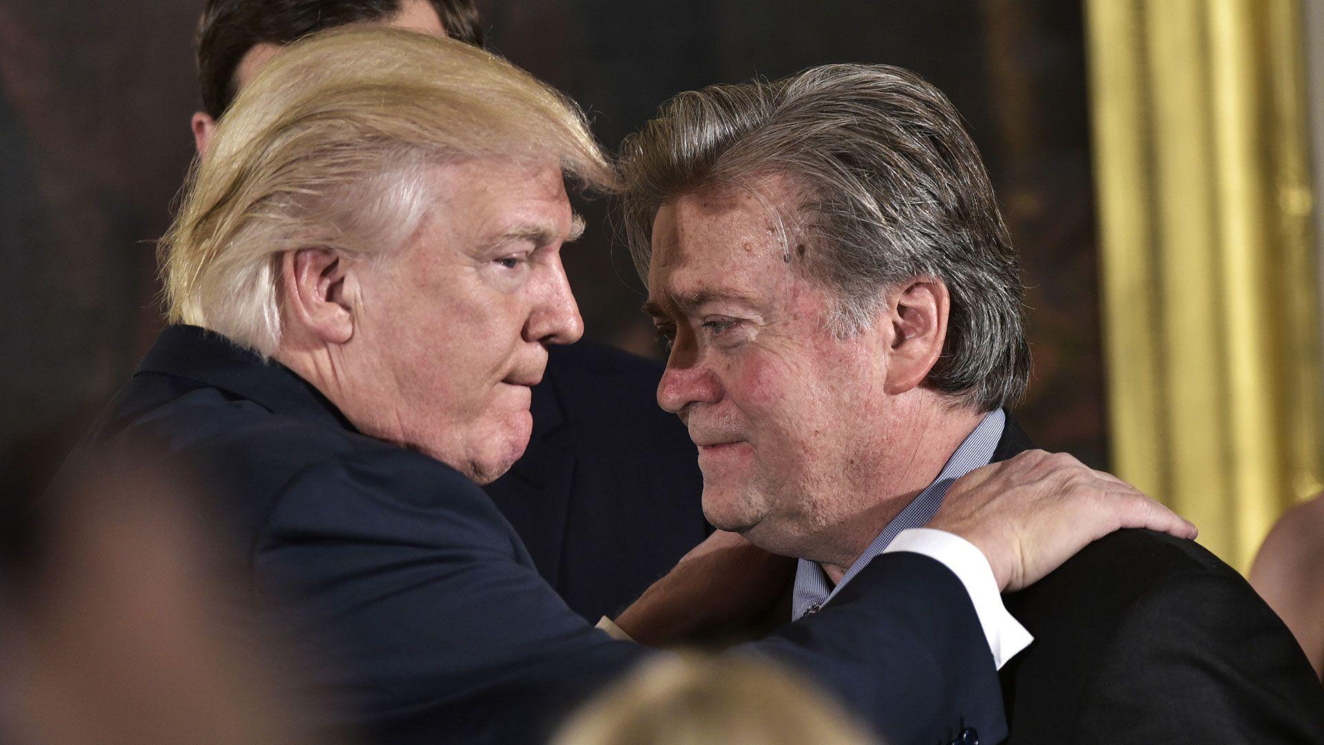 Steve Bannon integró el Consejo de Seguridad Nacional de Donald Trump (AFP)