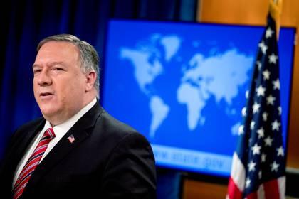 Mike Pompeo, secretario de Estado de EEUU. Andrew Harnik/Pool via REUTERS