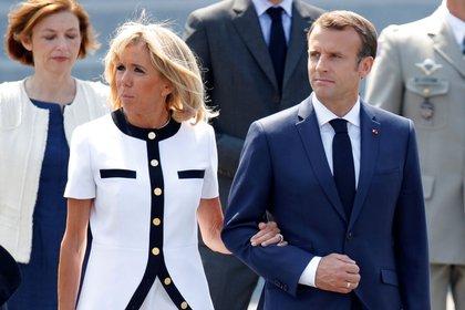 El gobierno de Emmanuel Macronimpulsó la sanción de la ley contra el acoso(REUTERS/Charles Platiau)