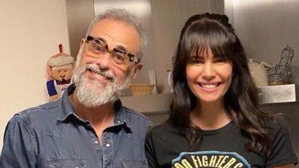 Jorge Rial y su mujer, Romina Pereiro