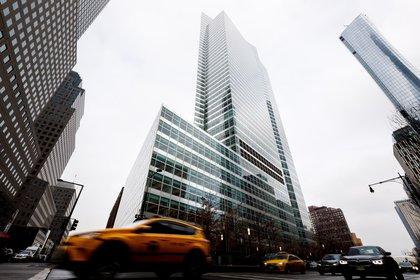 La actual sede del grupo de inversión Goldman Sachs en Nueva York Foto: EFE/Justin Lane