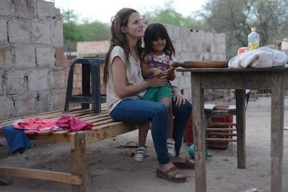 Haciendo Camino tiene más de 10 años y Hornos viaja todos los meses para trabajar en la fundación, que tiene su base en Añatuya (Santiago Calderon)