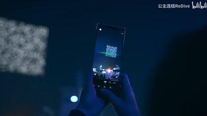 Un show de drones en Shanghái, China, culminó con un código QR en el cielo nocturno para que los espectadores pudieran escanear desde sus celulares.
