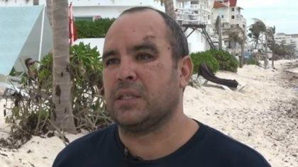 Ernesto Zepeda solicita que la actriz cubana le pague al rededor de 300 mil pesos como reparación del daño sufrido en junio pasado, en Cancún (Captura de Pantalla: Youtube @elcandelero)