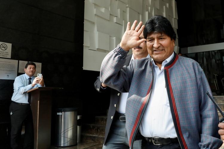 Evo Morales (REUTERS/Carlos Jasso)