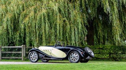 Otro de los modelos restaurados que se subastaron en 2020 (Bugatti)