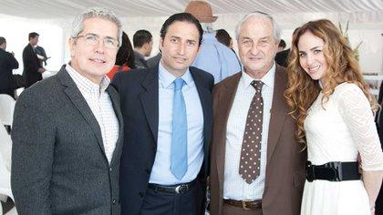 El empresario Sergio Grosskopf (segundo desde la derecha). Foto:Archivo DEF.