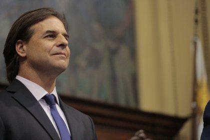 01/03/2020 El presidente de Uruguay, Luis Lacalle Pou POLITICA SUDAMÉRICA URUGUAY PRESIDENCIA URUGUAY