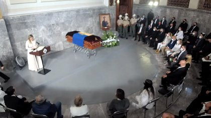 Jorge Aristóteles Sandoval for the last time in the Government Palace of Jalisco (Photo: Screenshot)