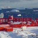 Foto de archivo de la base chilena en la Antártida