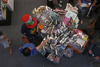 En la Feria Internacional del Libro de Guadalajara (FIL) también habrá una buena cantidad de actividades para los más pequeños de la casa. (Foto: Fernando Carranza García/Cuartoscuro)