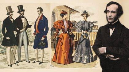 """""""La Moda"""", dirigida por Juan Bautista Alberdi, fue pionera en el mundo. Desde allí -firmando como Figarillo- dejaba mensajes velados en criticando a Juan Manuel de Rosas"""