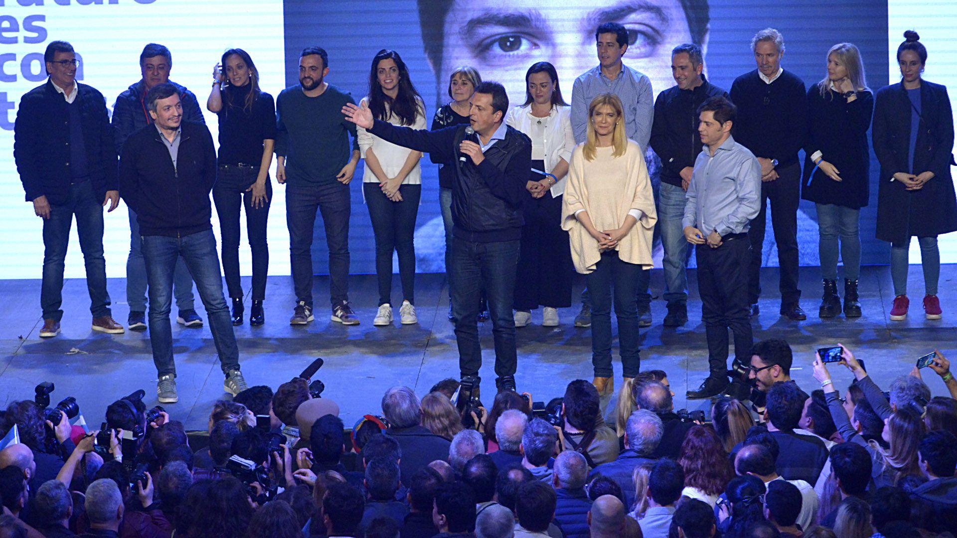 Massa quedó en el centro de la escena y aparecerá más en campaña (Gustavo Gavotti)