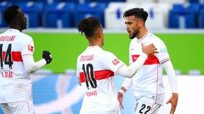 Nicolás González lleva 13 goles en sus últimas 17 presentaciones oficiales (EFE/EPA/Matthias Hangst)