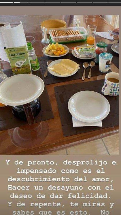 El posteo de Luis Novaresio durante sus vacaciones (Instagram)