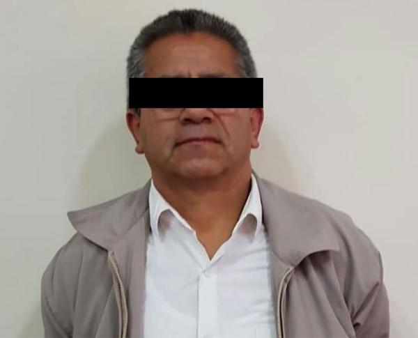 Rafael O.V, acusado por la Justicia peruana de colaborar con Sendero Luminoso, detenido ayer.