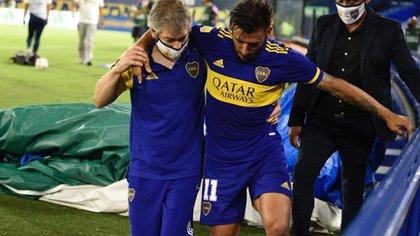 Salvio sufrió una rotura de ligamentos en su rodilla izquierda: estará aproximadamente 6 meses fuera de las canchas
