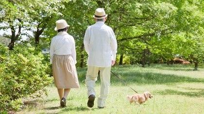 La relación que mantienen con la naturaleza es otro de los motivos por los que la población envejece más saludablemente (IStock)