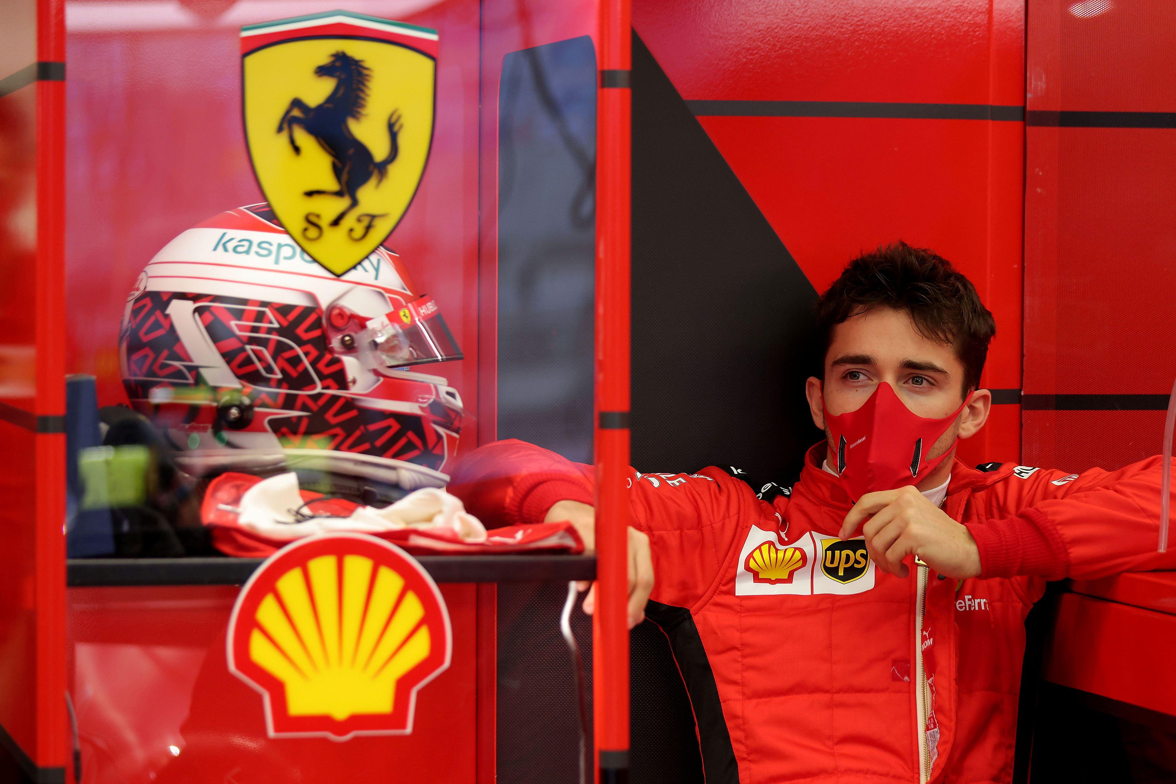Charles Leclerc firmó con Ferrari en 2018 (Reuters)