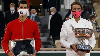 """Nuevo capítulo en la guerra entre Djokovic y Nadal: """"Yo no estoy obsesionado con eso"""""""