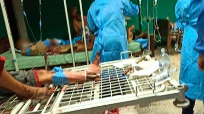 En el hospital Dr. Miguel Oraá no hay ni colchones. El lugar sufre la misma crisis sanitaria que ocurre en todo el país: sin insumos médicos, agua o electricidad.