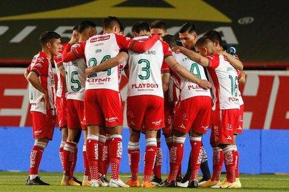 El Necaxa se repartió las unidades con Querétaro al finalizar el encuentro con un empate a cero (Foto: cortesía Instagram/@ClubNecaxa)